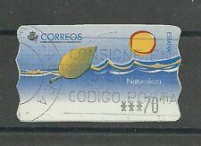 España MiNr ATM 16 o en papel