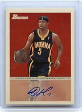 2009-10 BOWMAN '48 #48A-TJF T.J. FORD AUTOGRAPH AUTO - INDIANA PACERS