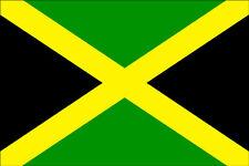 A5 iron on T-shirt Transfer - Jamaica / Jamaican Flag