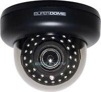 EYEMAX ID-6039V Security Dome Camera, 620 TVL 35 Smart-IR LED 2D-DNR Dual Power