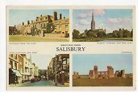 Greetings from Salisbury 1960 Postcard, A472