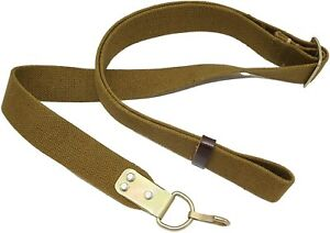 Vintage Rifle Sling Russia Army 2 Point Belt Gun Military Canvas USSR Tactical