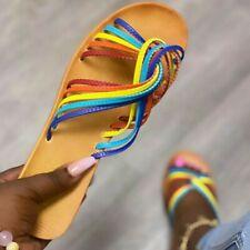 Women Rainbow Sandals size 8