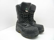 "Dakota Men's 10"" Composite Toe Composite Plate Oil Transitional Boots Black 7W"
