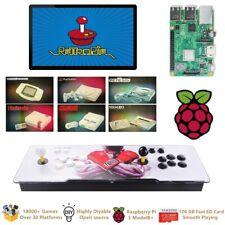 Raspberry Pi 3 Model B+(B Plus) Arcade Video Game Console  Retropie 18000+ 128GB