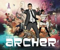 The Art of Archer-Hardcover-Mint condition-ISBN 978-0-06-248413-0  USA seller