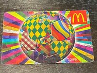 "2014 McDonald's CANADA Eduardo Kobra ""O Mundo Unido "" COLLECTIBLE GIFT CARD 285"