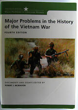 #^W24,, Robert J McMahon MAJOR PROBLEMS IN THE HISTORY OF THE VIETNAM WAR, SC...