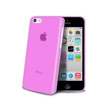 Coque Housse Etui Translucide Ultra Fine 0.3mm Pour iPhone 5C Rose
