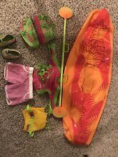 american girl doll jess kayak and swim outfits