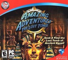 Amazing Adventures The Lost Tomb PC Game Window 10 8 7 XP Computer hidden object
