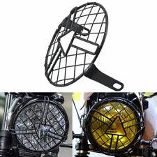 Headlight Protector Cover Retro Metal Grill for Motor Triumph Suzuki Kawasaki