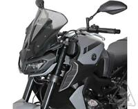 MRA Motorcycle Windshield Yamaha FZ-09 & MT-09 | NRN Racing Screen - Smoke Grey