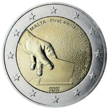 Malta 2 euro 2011  Unc / Eerste Verkiezing 1849