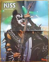 ⭐⭐⭐⭐ KISS ⭐⭐⭐⭐ Gene Simons ⭐⭐⭐⭐ 1 Poster 45 x 58 cm ⭐⭐⭐⭐
