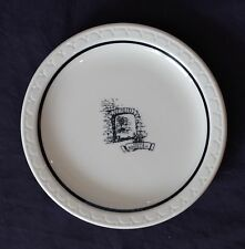 Old Mill Night Club Plate 1940s Cottonwood Heights Utah Haunted Holladay