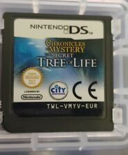 Chronicles of Mystery - The Secret Tree of Life - NINTENDO DS -  NDS - FREE POST
