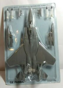 GE FABBRI DIECAST 1:100 SCALE MCDONNELL DOUGLAS F-15 EAGLE - SEALED BLISTER PACK