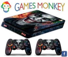 Skin PS4 SLIM - JOKER  - Cover Adesiva Vinile Lucido HD Playstation 4