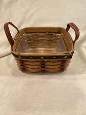 New ListingLongaberger 2004 Proudly American Medium Berry Basket with Hard Protector