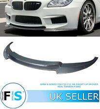 BMW 6 SERIES F06 F12 F13 M6 FRONT LIP SPLITTER SPOILER V STYLE CARBON FIBRE 14+