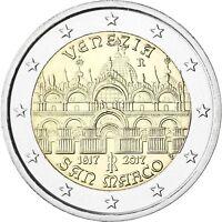 Italien 2 Euro 2017 Markusdom in Venedig Gedenkmünze prägefrisch