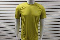 Men's Marmot Windridge Short Sleeve Yellow Vapor Shirt 60390 Brand New With Tag