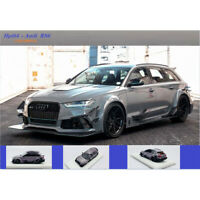Pre-Order Hpi64 1:64 Scale Audi RS6 AVANT Car Model Collection +luggage Case