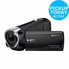 Sony HDR CX240 Handycam 2.7 Inch LCD 27x Optical Zoom HD Camcorder - Black