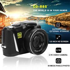 Digital Mirrorless Camera 3.0 Inch TFT LCD Screen HD 48MP 1080P 2.7K Anti-shake