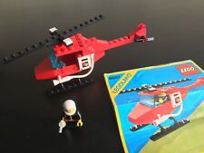 LEGO 6657 TOWN - Fire Patrol Copter - 100% complete. With Instructions