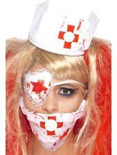 Halloween Enfermera Kit sangre Zombie Horror señoras vestido De Lujo Set De Accesorios
