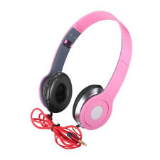 Adjustable Foldable DJ Headphone Kids Teens 3.5mm Wired Game Earphones 6Colors d