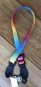 Leather Graft Ukulele Strap Multi Colour