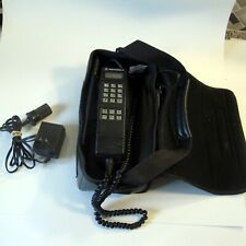 Vintage Motorola Portable Mobile Phone with Charger and Case SCN2329A