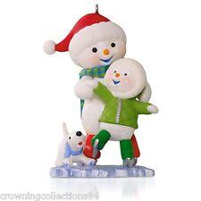 2015 Hallmark Making Memories Chillin' Together Ornament Ice Skating #8 Series