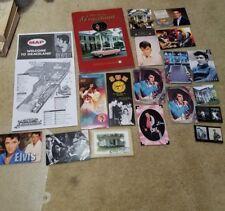 Elvis Graceland guidebook postcard patch collection d3