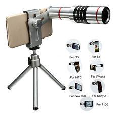 Universal 18X Zoom Phone Telescope Telephoto Camera Lens + Tripod IPhone Android