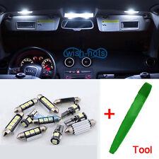 Interior LED Kit 17Pcs White Bulbs Error Free Canbus For Audi A6 C6 S6 Avant ML