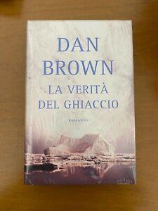 Dan Brown - La Verità di Ghiaccio copertina rigida sealed