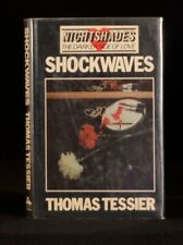 1982 Thomas Tessier Shockwaves Nightshades First UK Edition Scarce Hardback