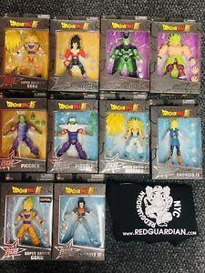 Dragon Ball Z Super Dragon Stars 6 Inch Action Figures 10pc Lot