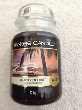 Yankee candle 'Black Coconut' large jar