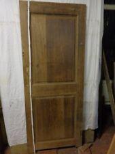 ANCIENNE  porte de passage en chêne, d'époque  19ème,original