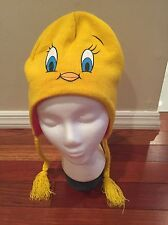 Tweety Bird Hat One Size Fits Most For Girls Over 14 Time Warner Entertainment