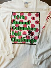Vintage 1994 19th annual Columbus Fall Challenge t-shirt bicycle t-shirt