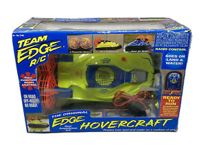 Team Edge RC Hovercraft Boxed Working 100% Complete