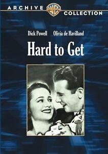 HARD TO GET - (B&W) (1938 Dick Powell) Region Free DVD - Sealed