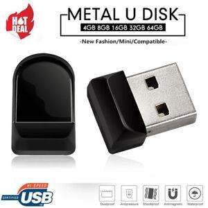 8/16GB-128GB Mini U Disk USB 2.0 High Speed Flash Drive Memory Stick Storage LOt