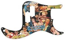 P Bass Scratchplate Graphical Pickguard  Fender 13 Hole Guitar Planet Terror